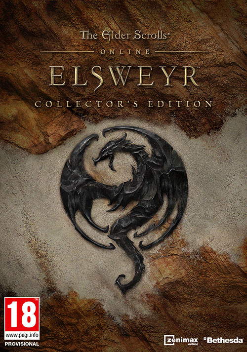 The Elder Scrolls Online: Elsweyr - Digital Collector's Edition - Cover / Packshot