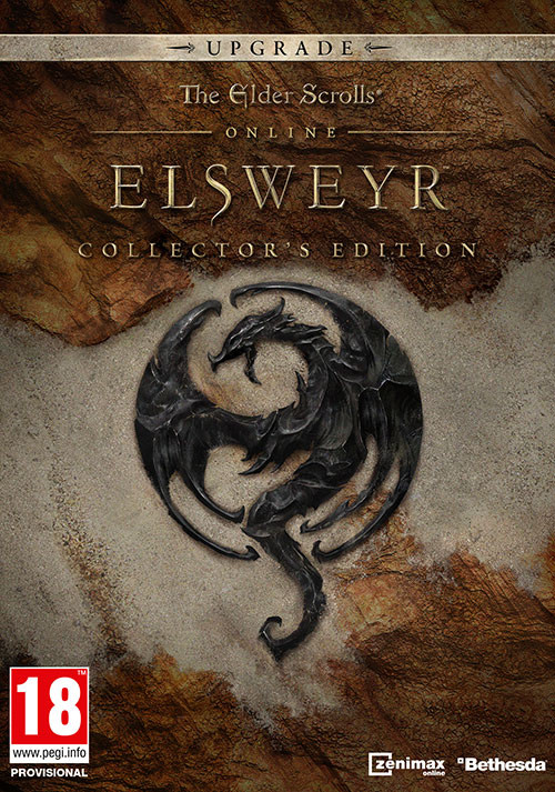 The Elder Scrolls Online: Elsweyr - Digital Collector's Edition Upgrade - Cover / Packshot