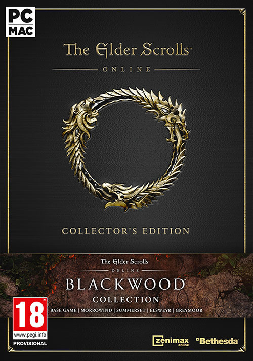 The Elder Scrolls Online Collection: Blackwood Collector's Edition - Cover / Packshot