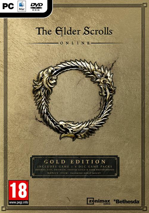 The Elder Scrolls Online: Gold Edition - Packshot