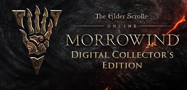 The Elder Scrolls Online: Morrowind - Digital Collector's Edition - Cover / Packshot