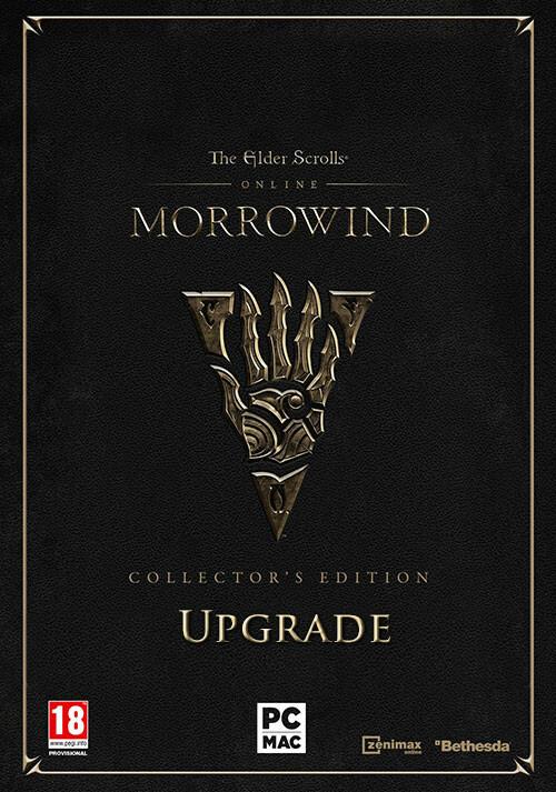 The Elder Scrolls Online: Morrowind - Digital Collector's Edition Upgrade - Packshot