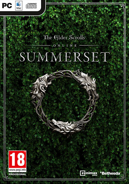 The Elder Scrolls Online: Summerset  - Cover