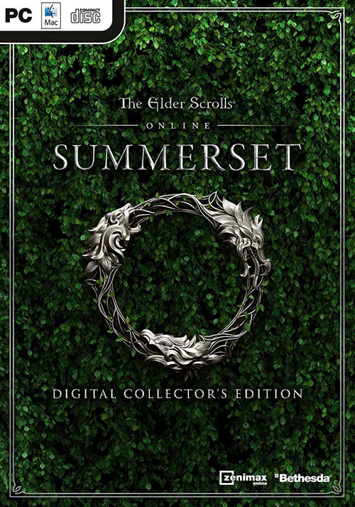 The Elder Scrolls Online: Summerset Digital Collector's Edition - Cover