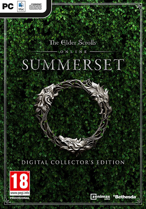 The Elder Scrolls Online: Summerset Digital Collector's Edition - Cover / Packshot