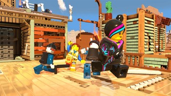 Screenshot1 - The Lego Movie Videogame