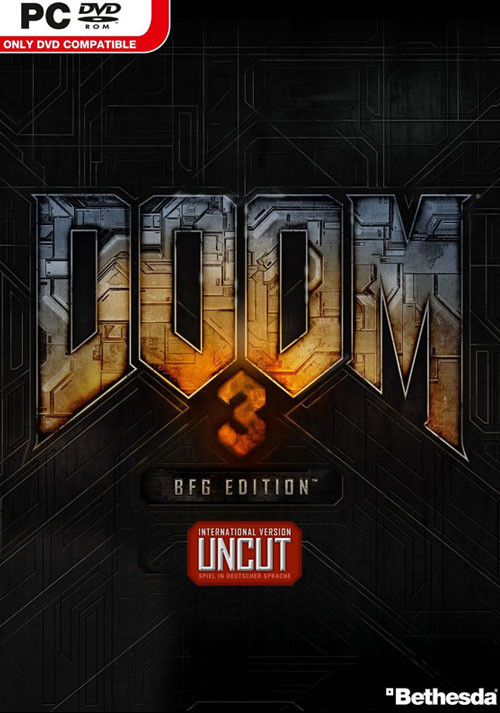 DOOM 3: BFG Edition - Packshot