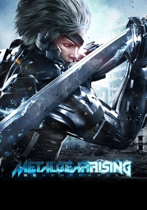 Metal Gear Rising: Revengeance - Cover