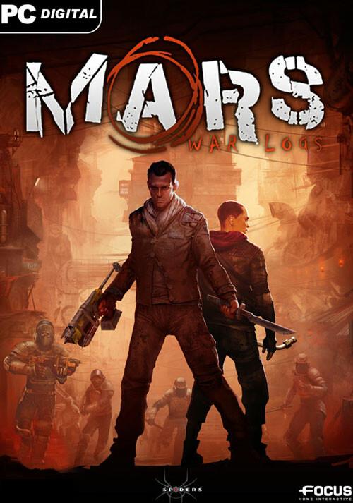 Mars War Logs - Cover