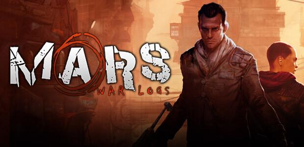 Mars War Logs - Cover / Packshot