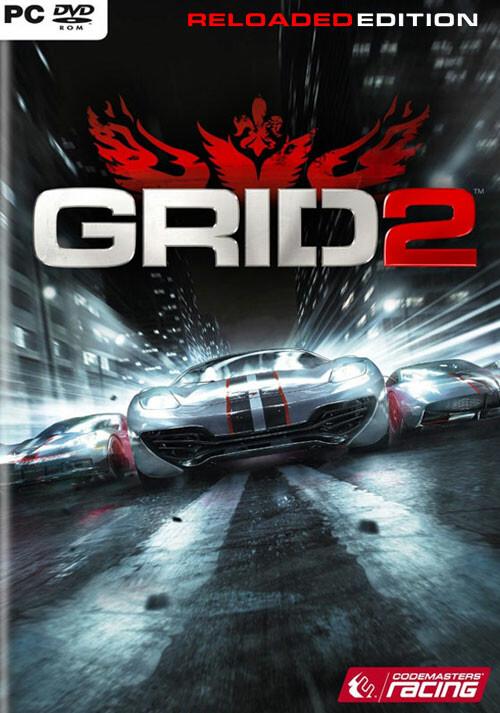 GRID 2 Reloaded - Packshot