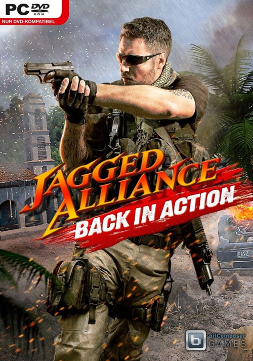 Jagged Alliance: Back In Action - Cover