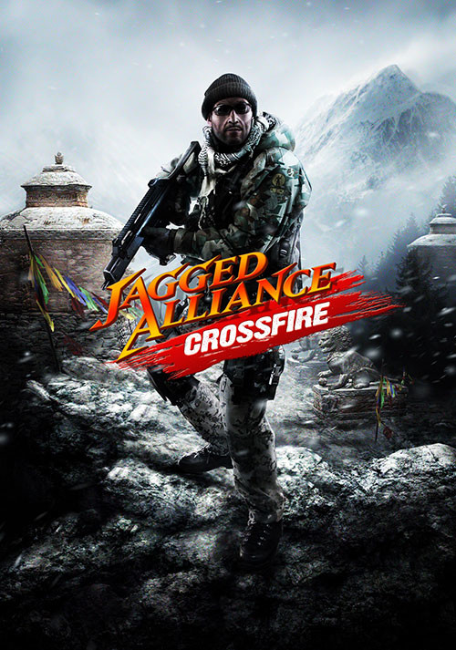 Jagged Alliance: Crossfire - Cover