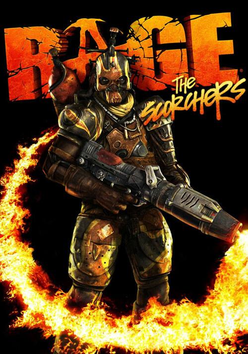 RAGE: The Scorchers DLC - Cover / Packshot