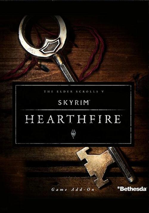 The Elder Scrolls V: Skyrim - Hearthfire - Cover / Packshot