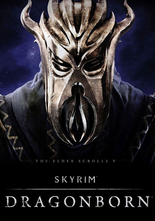 The Elder Scrolls V: Skyrim - Dragonborn - Cover / Packshot