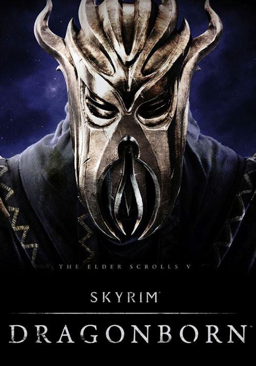 The Elder Scrolls V: Skyrim - Dragonborn - Cover