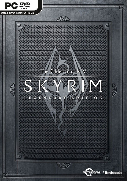The Elder Scrolls V: Skyrim Legendary Edition - Packshot