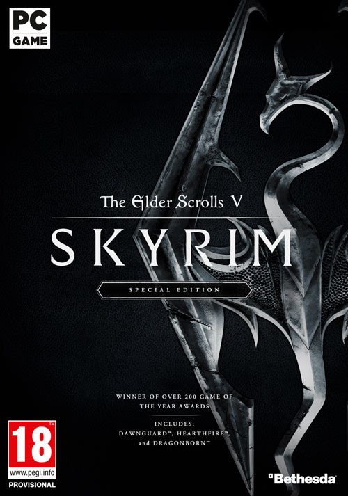 The Elder Scrolls V: Skyrim Special Edition - Cover