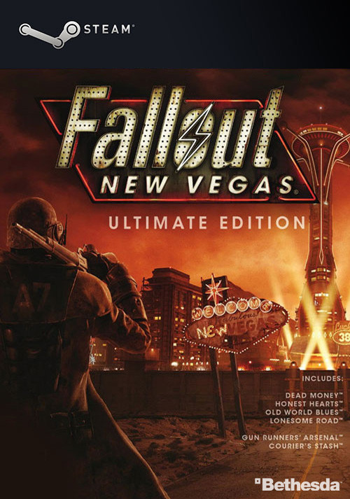 Fallout New Vegas: Ultimate Edition - Cover