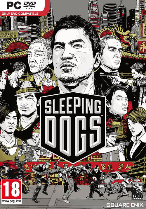 Sleeping Dogs - Packshot