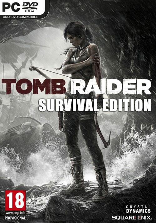 Tomb Raider: Survival Edition - Cover / Packshot
