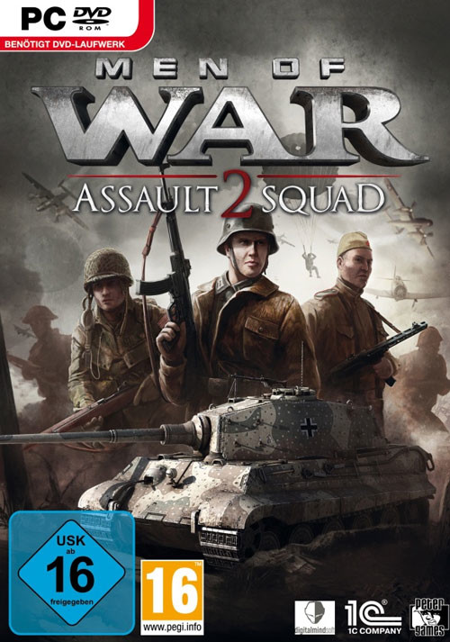 Men Of War: Assault Squad 2 - Cover / Packshot