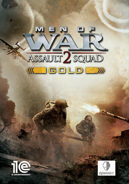 Men of War: Assault Squad 2 - Gold Edition - Cover / Packshot