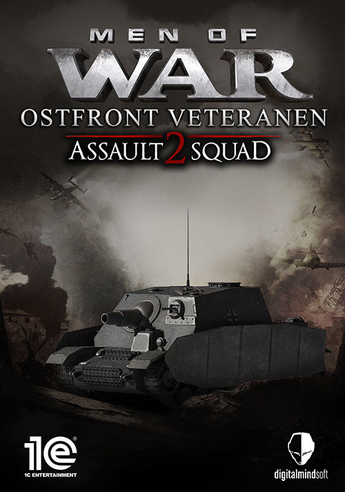 Men of War: Assault Squad 2 - Ostfront Veteranen - Cover / Packshot
