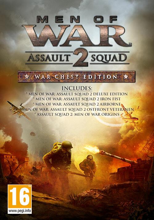 Men of War : Assault Squad 2 War Chest Edition  - Cover / Packshot