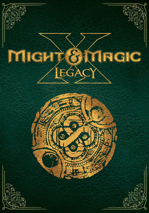 Might and Magic X Legacy - Cover