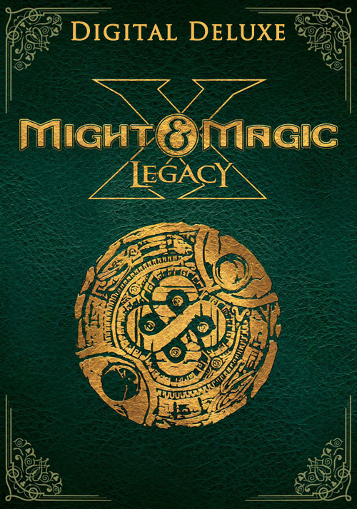 Might and Magic X Legacy Deluxe - Cover / Packshot