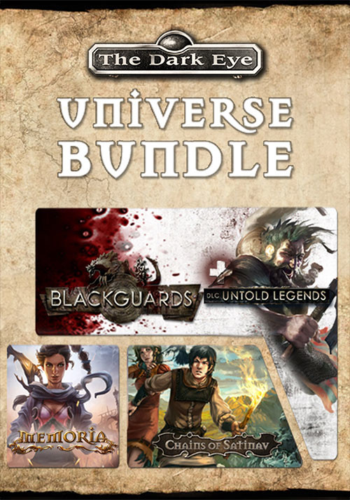 The Dark Eye Universe Bundle - Cover / Packshot