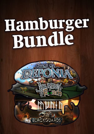 The Daedalic Hamburger Bundle - Packshot