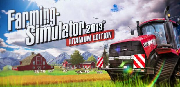 Farming Simulator 2013 Titanium Edition (Giants) - Cover / Packshot