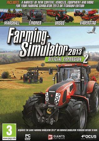 Farming Simulator 2013: DLCs Pack (Giants) - Cover / Packshot