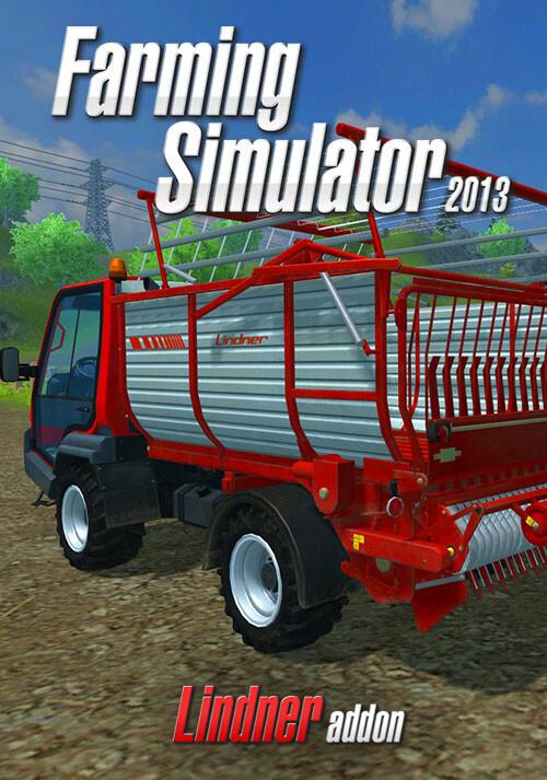 Farming Simulator 2013 Lindner Unitrac (Giants) - Cover / Packshot
