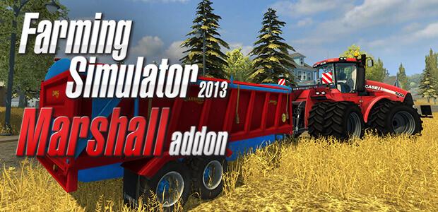 Farming Simulator 2013: Marshall Trailers (Giants) - Cover / Packshot
