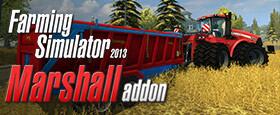 Farming Simulator 2013: Marshall Trailers (Giants)