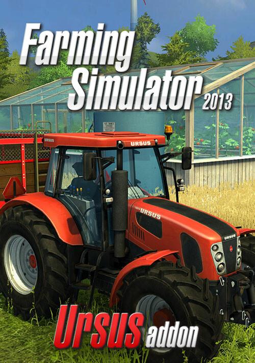 Farming Simulator 2013: Ursus (Giants) - Cover / Packshot