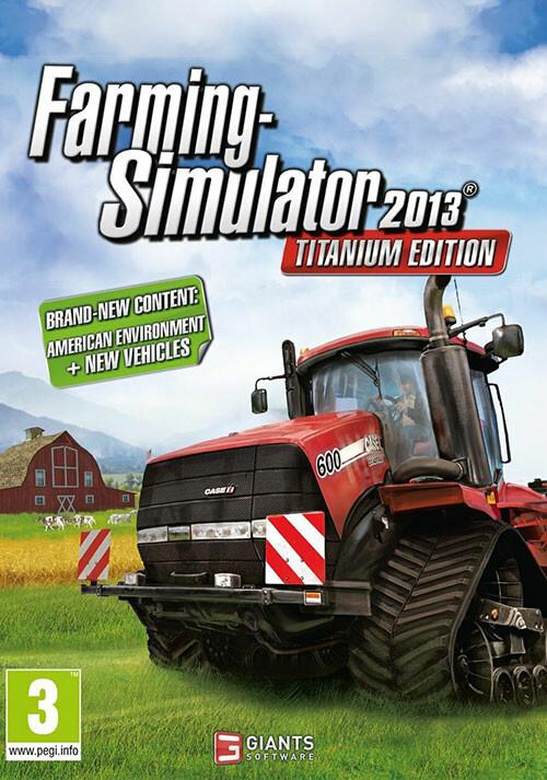 Farming Simulator 2013 Titanium Edition (Steam) - Cover / Packshot