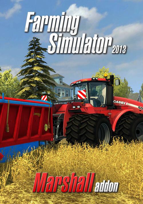 Farming Simulator 2013: Marshall Trailers (Steam) - Cover / Packshot