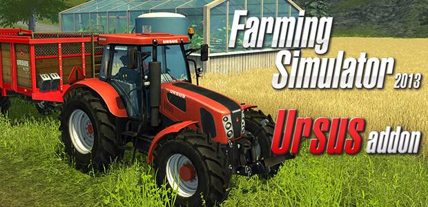 Farming Simulator 2013: Ursus (Steam) - Cover / Packshot