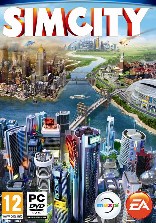 SimCity - Cover / Packshot