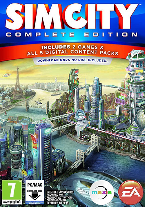 SimCity: Complete Edition - Cover / Packshot