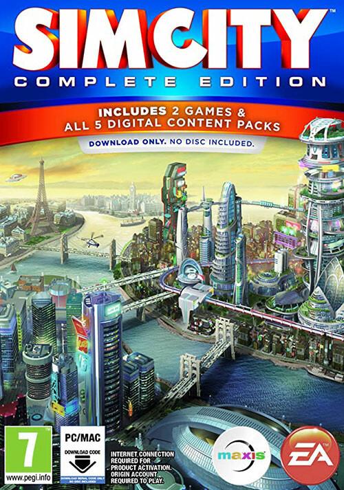 SimCity: Édition Intégrale - Cover / Packshot
