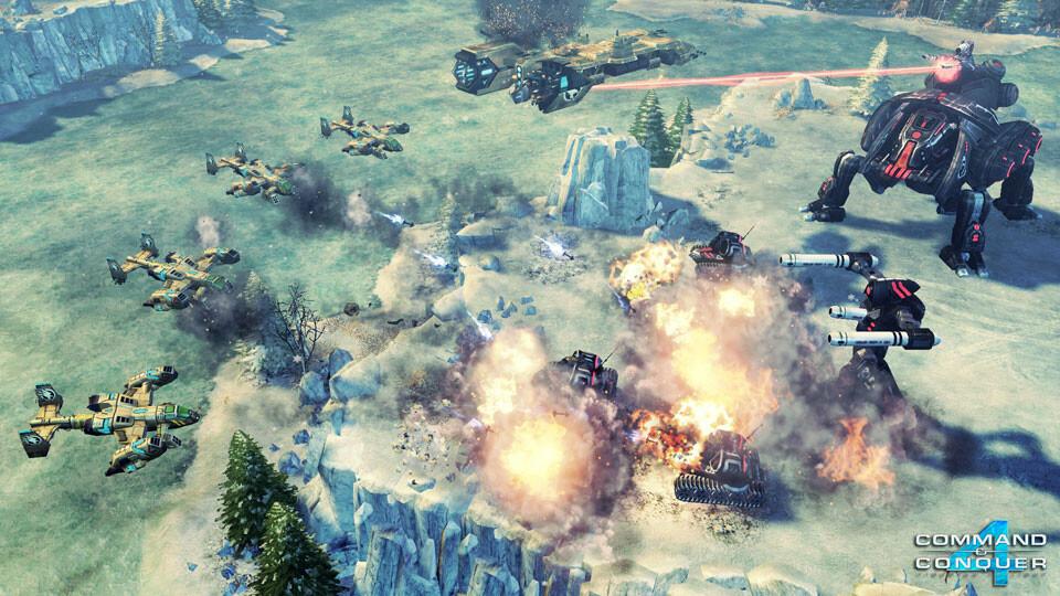 скачать игру Command Conquer 4 - фото 8