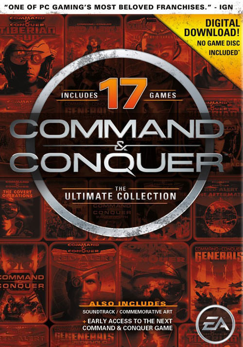 Command & Conquer The Ultimate Collection - Cover