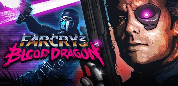 Far Cry 3 Blood Dragon - Cover / Packshot