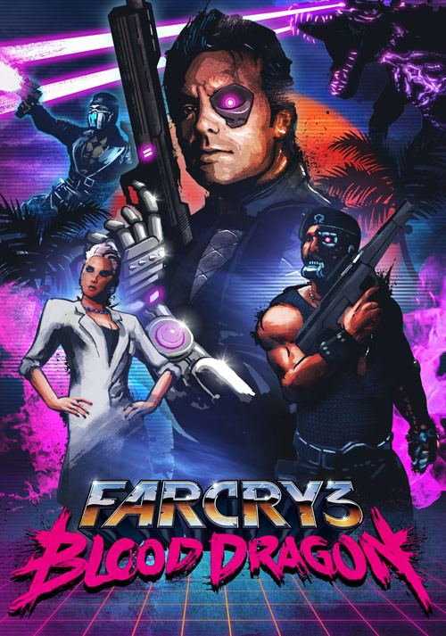 Far Cry 3 Blood Dragon - Cover / Packshot
